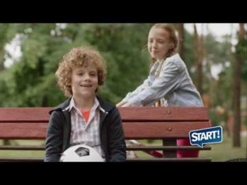 Реклама сухих зерновых завтраков Start. 1